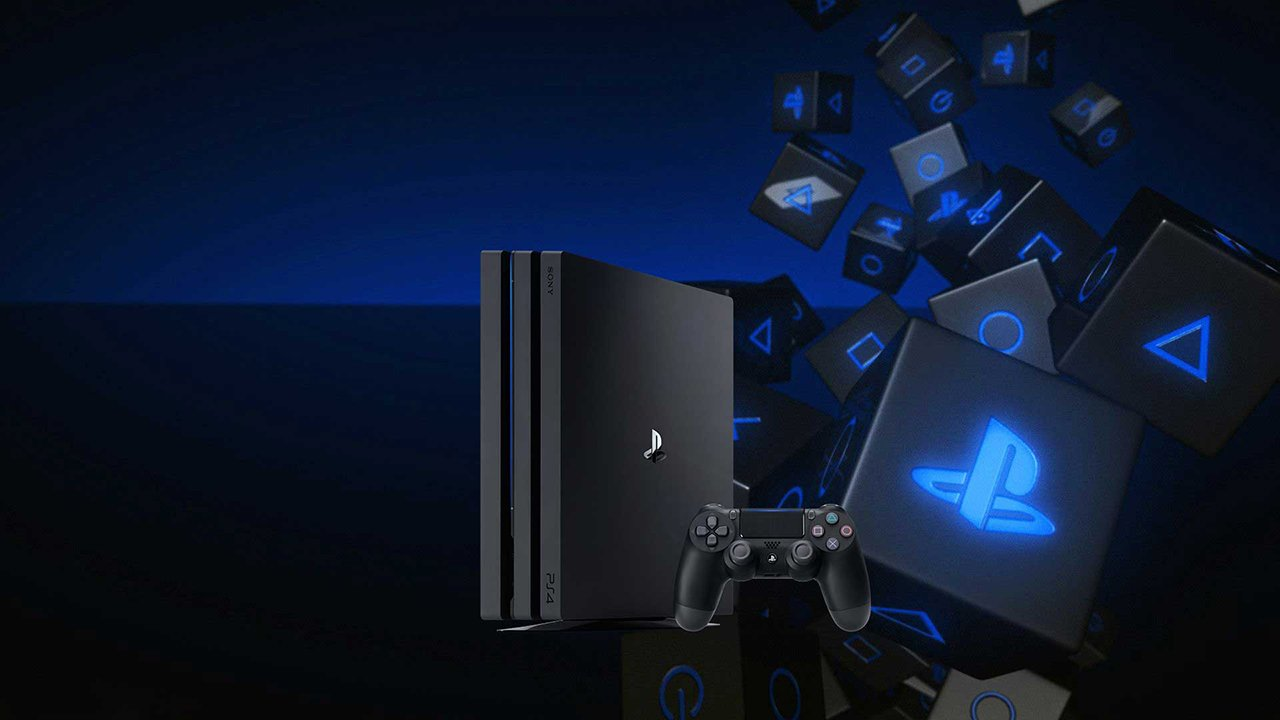 playstation 4 front
