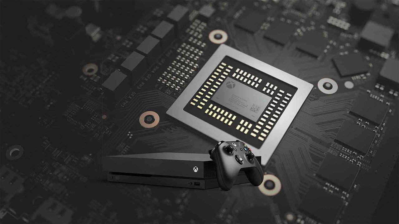 xbox one x front