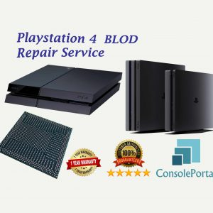 Playstation 4 flashing blue light