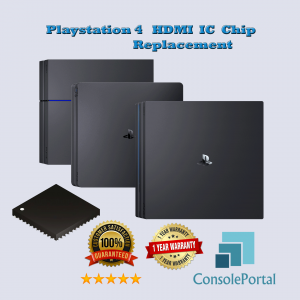 Playstation 4 HDMI IC chip replacement