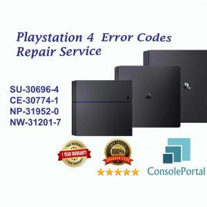 Playstation 4 Error code repair