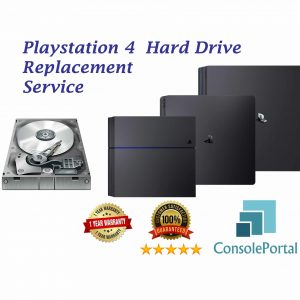 Playstation 4 Hard Drive replacement