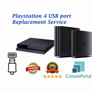 Playstation 4 USB port replacement