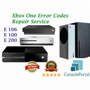 Xbox One error codes repair
