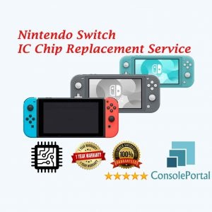 Nintendo Switch IC Chip replacement service