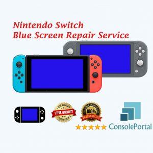 Nintendo Switch Blue Screen repair service