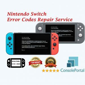 Nintendo Switch Error Codes Repair