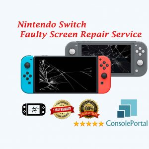 Nintendo Switch Faulty Screen replacement