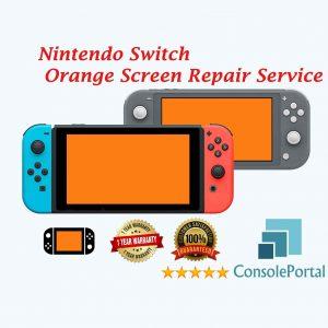 Nintendo Switch Orange Screen repair service
