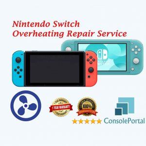 Nintendo Switch Overheating repair