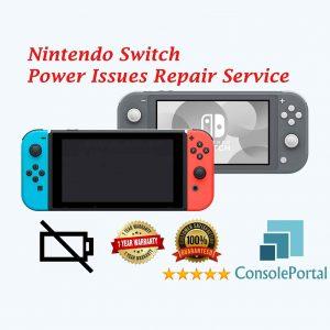 Nintendo Switch Power Issues repair