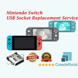 Nintendo Switch USB port replacement